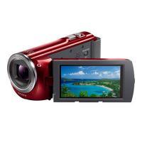索尼(SONY)HDR-PJ390E 投影系列 数码摄像机 支持外接投影(红色) 普通摄像机及附件设备