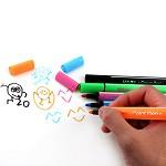 晨光(M&G)TCP90183 冬己悠然时光三角水彩笔 可水洗儿童三角粗杆 水彩笔涂鸦笔 24色