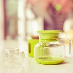 花色(stylor) STH-0295 6杯水mini tea 玻过滤茶壶 双层玻璃杯子水壶水