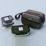 意動保鮮盒 HNB233 保鮮、保溫、好美味  400ml*1 150ml*2