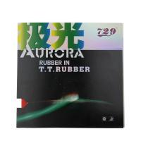 729 AURORA 極光 澀性內能乒乓球 反膠套膠 乒乓球套膠 紅色