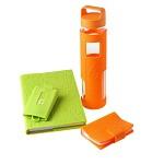 花色(stylor) STB-0314 生活方程式 健康MINI卡包 健康多功能钥匙包 健康book笔记本 6杯水2.0水杯