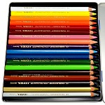 迪克森LYRA  Color Giants L3941181 18色六角形粗杆彩色铅笔