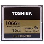 东芝(TOSHIBA)EXCERIA Pro CF存储卡 16GB 读160M写95M 1066倍速/VPG-65