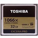 东芝(TOSHIBA)EXCERIAProCF存储卡32GB读160M写150M1066倍