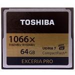 东芝(TOSHIBA)EXCERIA Pro CF存储卡 64GB 读160M写150M 1066倍速/VPG-65