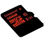 金士顿(Kingston)16GB UHS-I U3 Class10 TF(MicroSD)高速存储