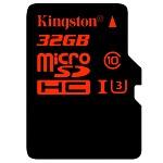 金士顿(Kingston)32GBUHS-IU3Class10TF(MicroSD)高速存储卡读速90MBS写入80MBS