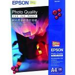 爱普生(Epson)S041786 A4/100sheets照片质量喷墨打印纸