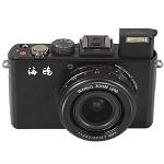 海鸥(SEAGULL) CF100 数码相机 黑色