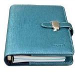 前通(front)笔记本万用手册活页本8寸W10-8001 天蓝色