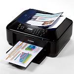佳能(Canon) E618 经济彩色喷墨传真一体机(打印 复印 扫描传真)