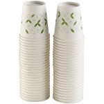 齐心(COMIX)L303 加厚一次性水杯/纸杯7盎司 200ml 50个装