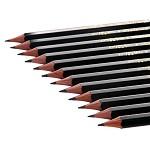 三菱(Uni) 9800 三菱铅笔2H绘图铅笔 绘画素描铅笔 多灰度 采用美国上等杉木及高级石墨结晶制造,不易折断。有14种硬度可以选择。相关型号:6B、5B、4B、3B、B、HB、F、H、2H、3H、4H、5H、6H 12支/装