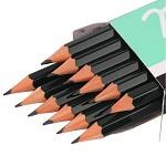 三菱(Uni) 9800 三菱铅笔2B考试绘图 绘画 素描  多灰度 采用美国上等杉木及高级石墨结晶制造,不易折断。有14种硬度可以选择。相关型号:6B、5B、4B、3B、B、HB、F、H、2H、3H、4H、5H、6H  12支/装