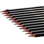 三菱(Uni) 9800 三菱铅笔4B绘图铅笔 绘画素描铅笔 多灰度 采用美国上等杉木及高级石墨结晶制造,不易折断。有14种硬度可以选择。相关型号:6B、5B、4B、3B、B、HB、F、H、2H、3H、4H、5H、6H 12支/装