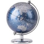 得力(deli)2161 世界地球仪摆件/商务礼品居家摆设 金属底座20cm