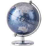 得力(deli)2160 世界地球仪摆件/商务礼品居家摆设 金属底座 13cm