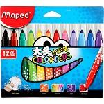 马培德(Maped)846020 12色大头水彩笔