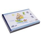 国誉(KOKUYO)WCN-PS2051 A4 50页螺旋pp面图画本/绘画本(颜色随机)