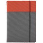 国誉(KOKUYO)-653A-2 记录管理笔记本/封面册 2册收容 B5/40页 红/灰