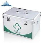 杰丽斯(JIELISI)660系列医药箱 10/12/14寸收纳箱家庭药医箱 车载便携急救箱 复合材料  6603 大号