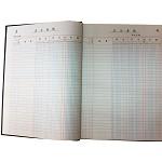 成文厚 借贷式账本 银行存款账 现金日记账本 总分类账 明细账外