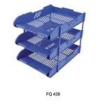 富强 FQ438 多用三层文件盘