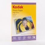 柯达(KODAK) 4027-317 高光照片纸.A4.180g  20张/包
