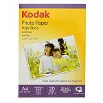 柯达(KODAK) 5740-333 高光照片纸.A4.200g 20张/包