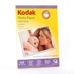 柯达(KODAK) CAT5740-322 高光照片纸.A4.230g 20张/包