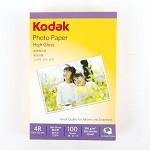 柯达(KODAK) 5740-312  6寸高光照片纸.4R.200g 100张/包