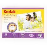 柯达(KODAK)5740-311 3R 200g  高光照片纸 相纸 200张/包 喷墨/相片纸/卡纸