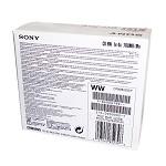 索尼(SONY)CD-RW 4速 700MB 可重复擦写 CD刻录光盘 单片盒装 可擦写