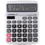 三木(SUNWOOD)EC-1757 金属面板计算器(双电源)