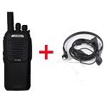 普乐仕(PULAS) PL-968 对讲机 专业无线商务民用手台大功率 车载手持式 对讲机 对讲机+专业耳机