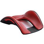 肯辛通(kensington)KA55789 人体工学硅胶鼠标垫护腕预防电脑鼠标手枕腕托护腕垫 红