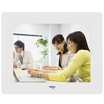 爱国者(aigo)DPF83  数码相框 专属定制 8英寸高清相册 白色 支持视频音乐 SD卡/U盘直插