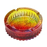 青苹果 G1063-1PS 炫彩玻璃烟缸