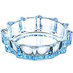 青苹果 LG1004 蓝色玻璃烟缸