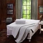 水星家纺 舒柔加厚床护垫 床垫款 加大双人180*200cm