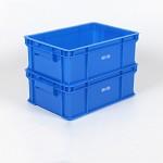 云峰 8617 320高110箱外尺寸长343宽236高120毫米塑料物流周转箱窄