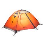 牧高笛(Mobi Garden)MZ093005 户外装备 防风防暴雨三季铝杆双人双层帐篷 冷山2 驴友强推  红色 室外装具