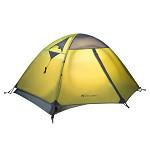 牧高笛(Mobi Garden)MZ093005 户外装备 防风防暴雨三季铝杆双人双层帐篷 冷山2 驴友强推  绿色