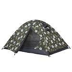 牧高笛(Mobi Garden)MZ092004 户外装备 十年经典正品双人双层铝杆透气野营帐篷 冷山2AIR  墨绿印花