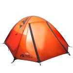 牧高笛(Mobi Garden)NXZ1429063 户外帐篷 登山防雨野营保暖双层三季帐3-4人帐篷 冷山4AIR 红色