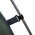 牧高笛(Mobi Garden)MZ095007 户外装备 正品露营防暴雨3人三季帐双层铝杆帐篷 采风3 浅绿印花
