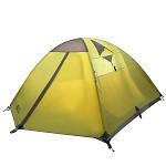 牧高笛(Mobi Garden)NXZ1429065 户外帐篷 防雨登山野外露营双层三季帐多人3-4人帐篷 冷山4 绿色