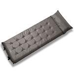 牧高笛(Mobi Garden)MF092006 户外装备 带枕头加宽加厚单人露营自动充气防潮垫 摩羯 灰色 室外装具