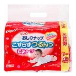 贝亲(Pigeon) 婴儿湿巾(含乳液配方)64片×6包【日本原装进口】